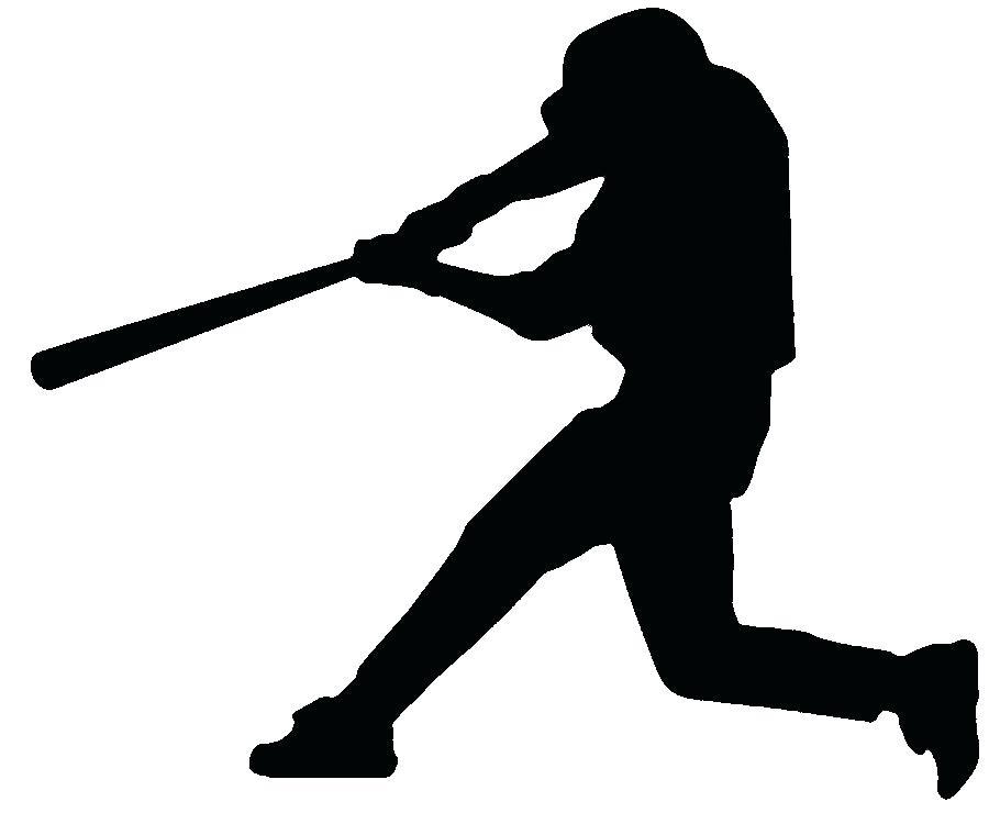 900x740 Clipart Baseball Baseball Batter Hitting Ball Search Clip Art