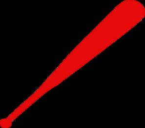 297x261 Red Baseball Bat Clip Art