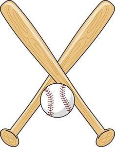 236x300 Baseball Bat Softball Bats Crossed Clipart