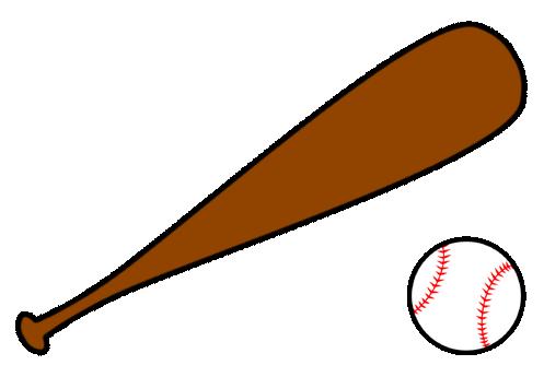 497x345 Crossed Baseball Bat Clipart Free Images 2