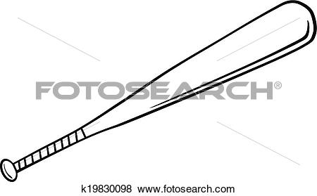 450x279 Baseball Bat Clipart Line Drawing