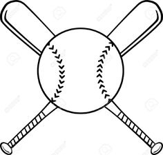236x225 Baseball Coloring Page To Use With Casey