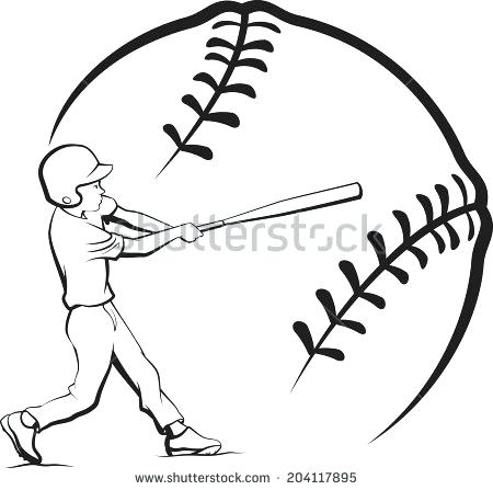 450x447 Clipart Baseball Baseball Batter Hitting Ball Search Clip Art