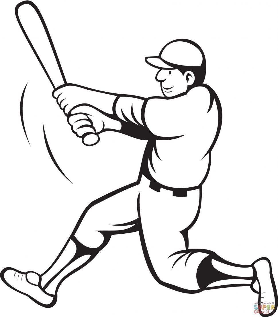 970x1103 Sport Baseball Coloring Pages For Boys Baseball Coloring Pages
