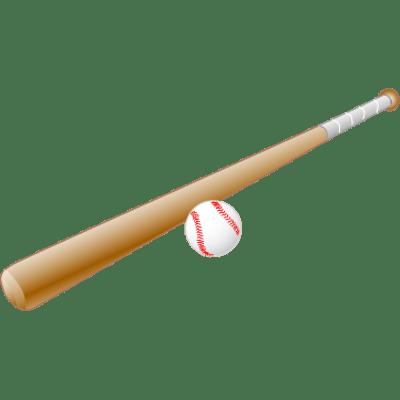 400x400 Baseball Bat Clipart Transparent Stick 2