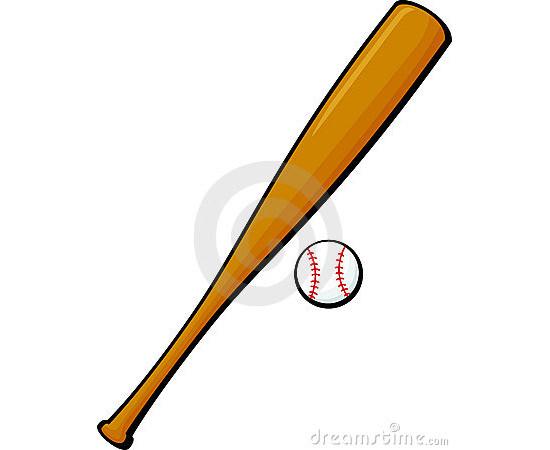 550x450 Premium Baseball Bat Vectors