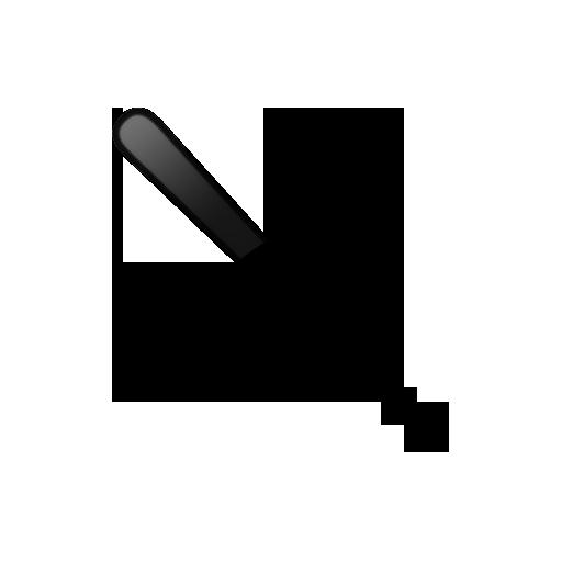 512x512 Baseball Bat Clipart Silhouette