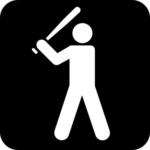 600x600 Baseball Field Clip Art Free Vector In Open Office Drawing Svg