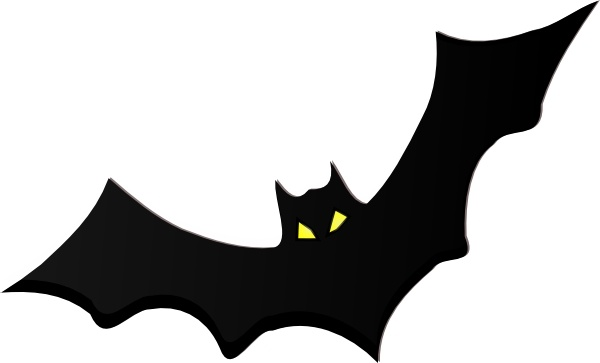 600x363 Bat Clip Art Free Vector In Open Office Drawing Svg ( Svg