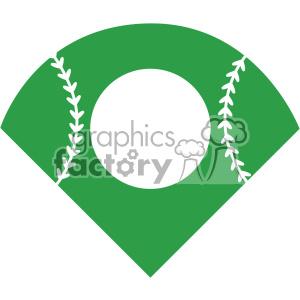 300x300 Royalty Free Baseball Field Svg Cut File Vector 403054 Vector Clip