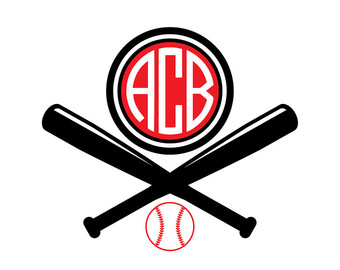 340x270 Svg One To Twelve Baseball Numbers Cut Files, Baseball Number Svg