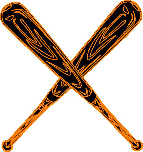 564x599 Baseball Bat Svg Clip Art