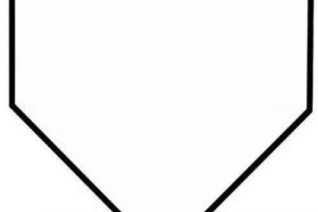 450x300 Baseball Home Plate Clip Art Two Crossed Baseball Bats