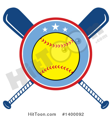 450x470 Softball Clipart
