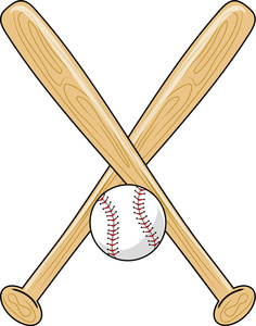 236x300 Baseball Bats Clipart Image