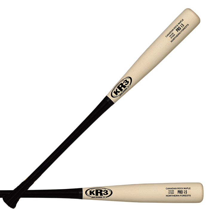 700x700 Wood Bats Kr3 Canadian Rock Maple Pro Pat.5 Baseball Bat