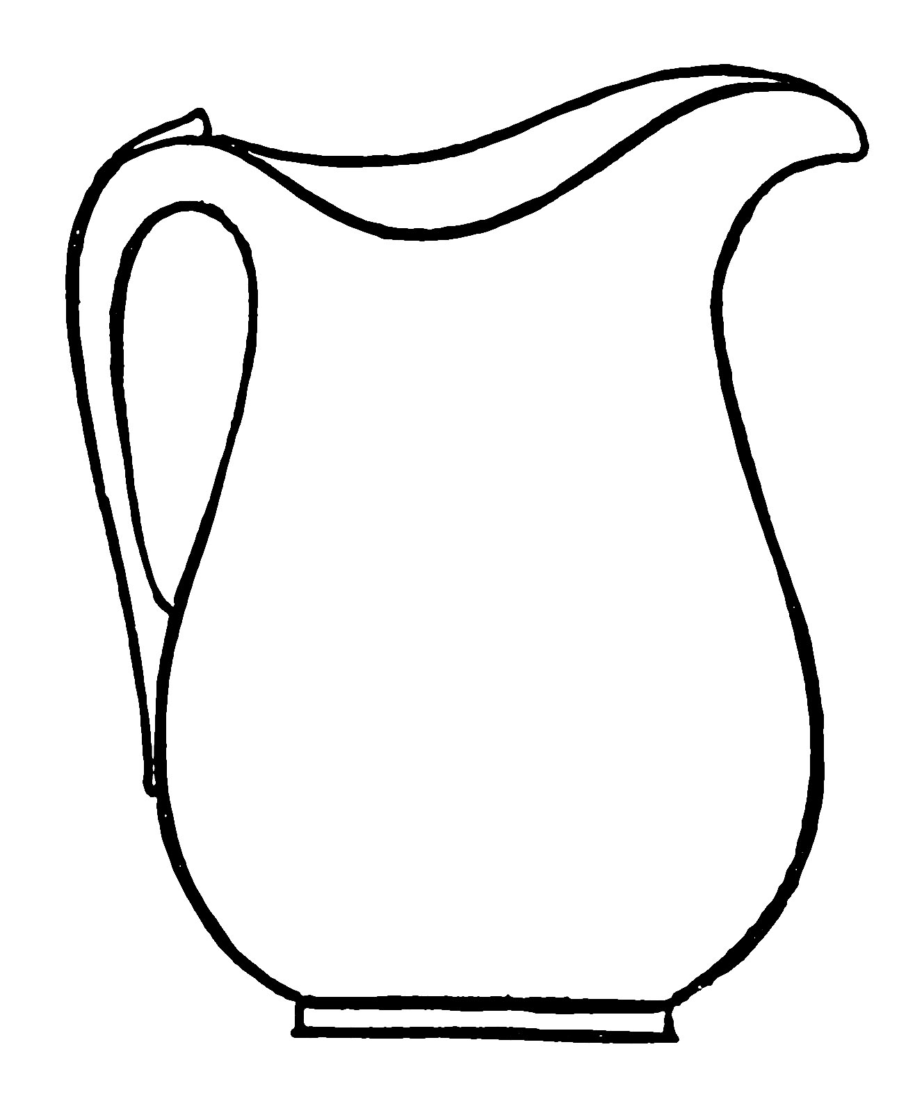 1316x1587 Clipart Pitcher