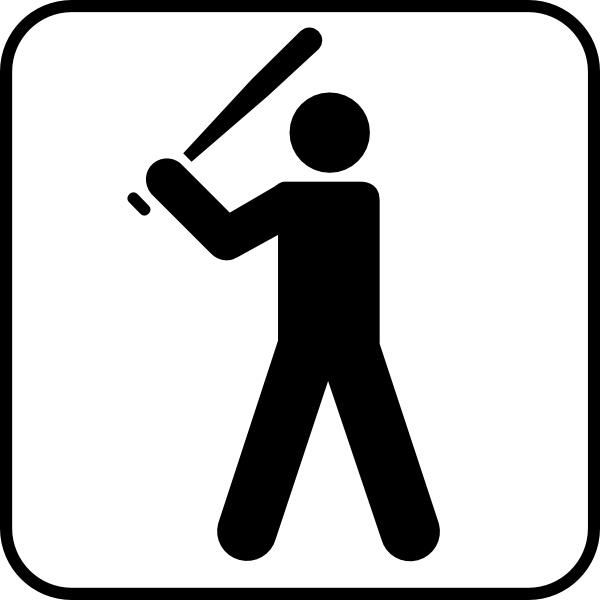 600x600 Open Baseball Cover Clipart