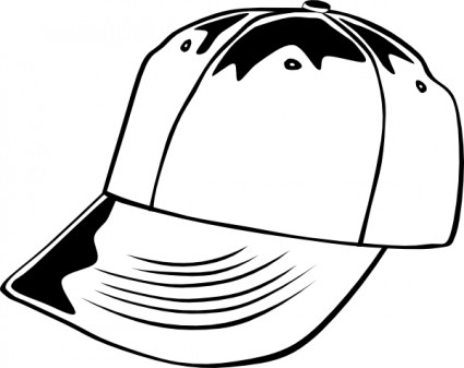 425x337 Baseball Cap Clip Art Download