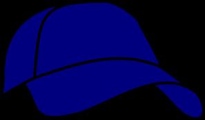 297x174 Blue Baseball Cap Clip Art