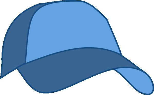 600x372 Hat Baseball Cap Blue Clip Art