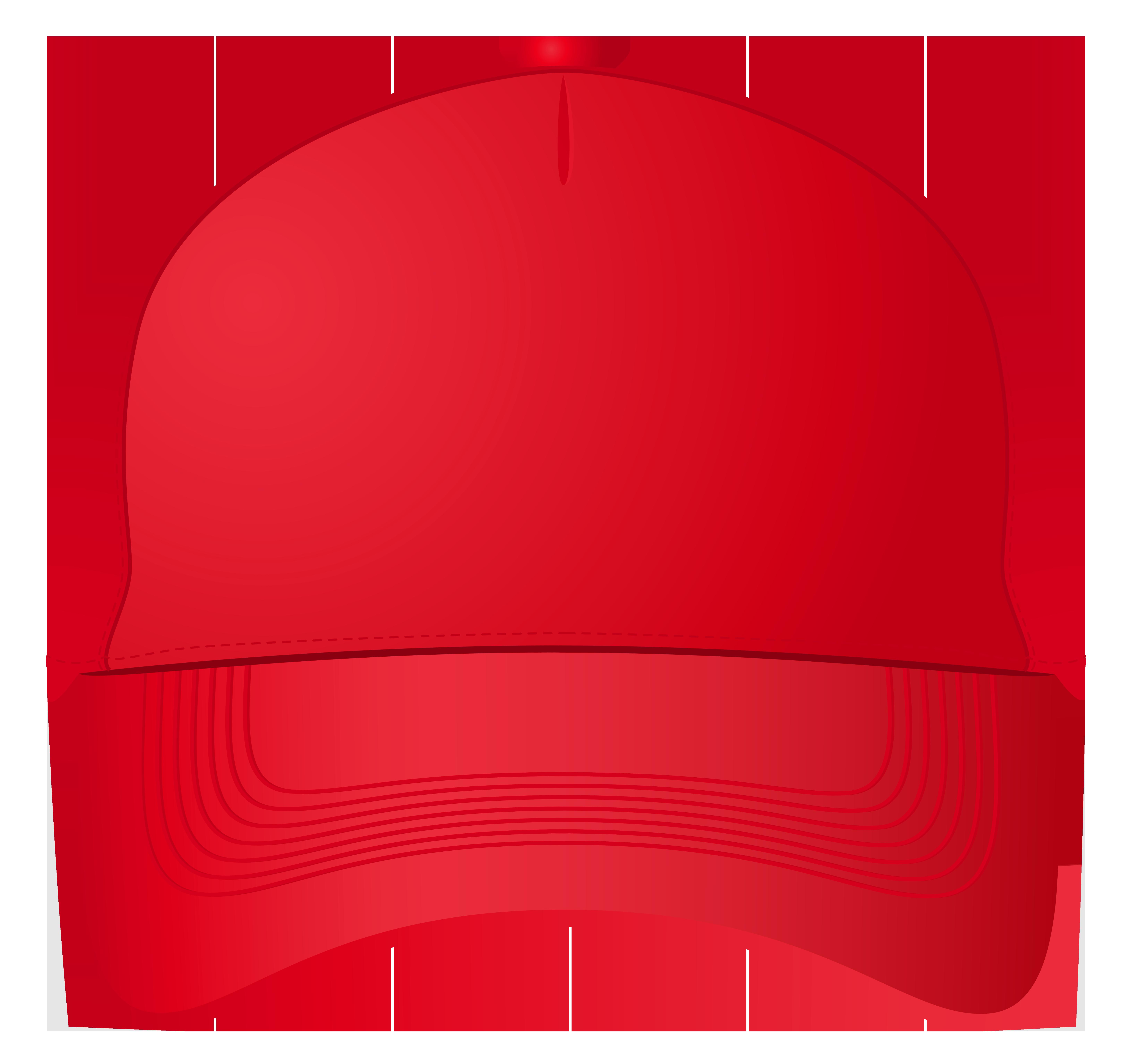 6505x6137 Red Baseball Cap Png Clipart