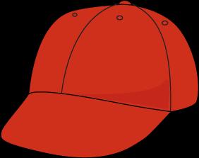 282x223 Red Baseball Hat Clip Art