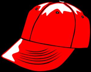 299x237 Baseball Cap Red Clip Art
