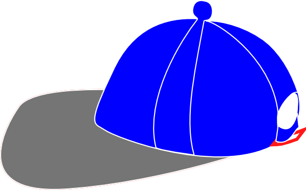 600x373 Snapback Hat Clip Art