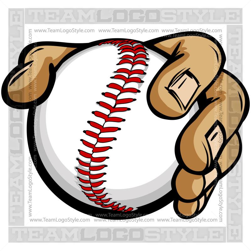 800x800 Hand Holding Baseball Cartoon