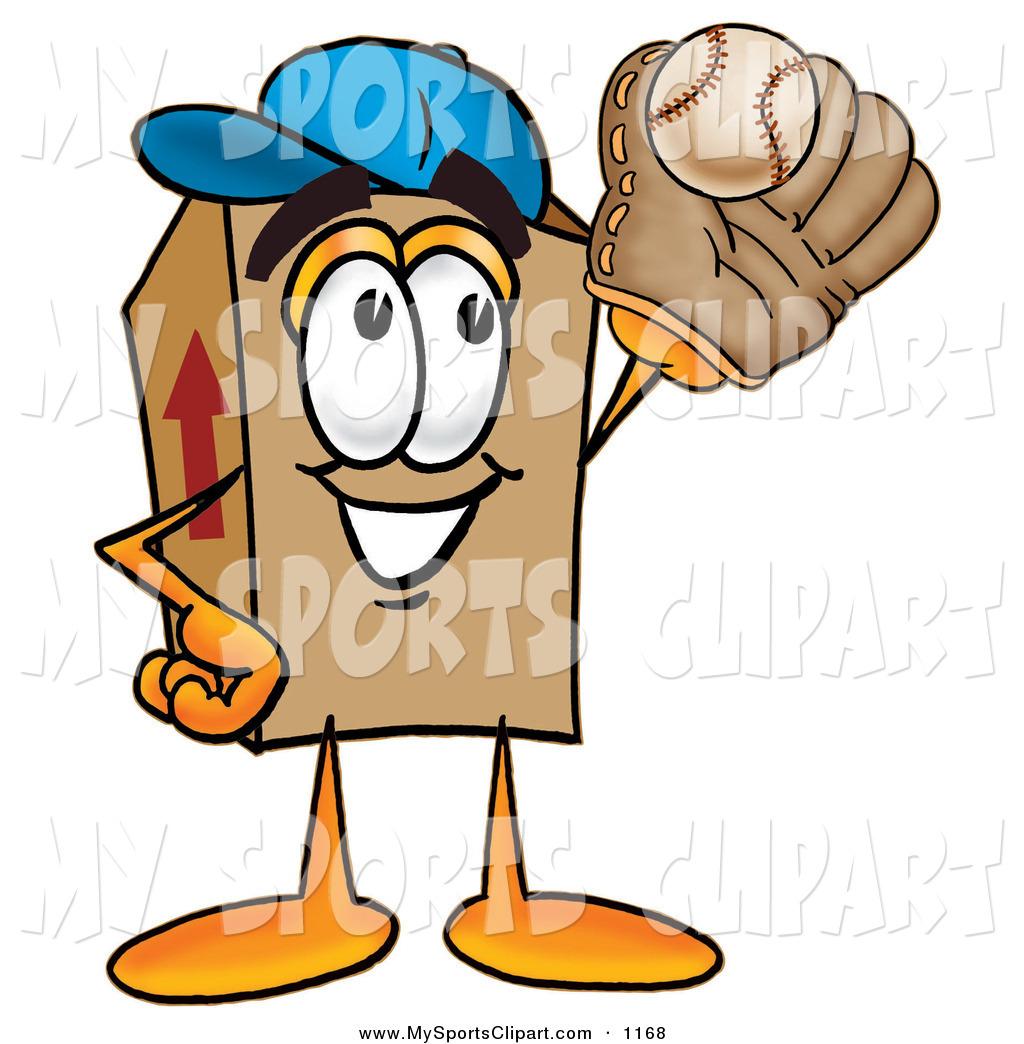 1024x1044 Sports Clip Art Of A Smiling Cardboard Box Mascot Cartoon