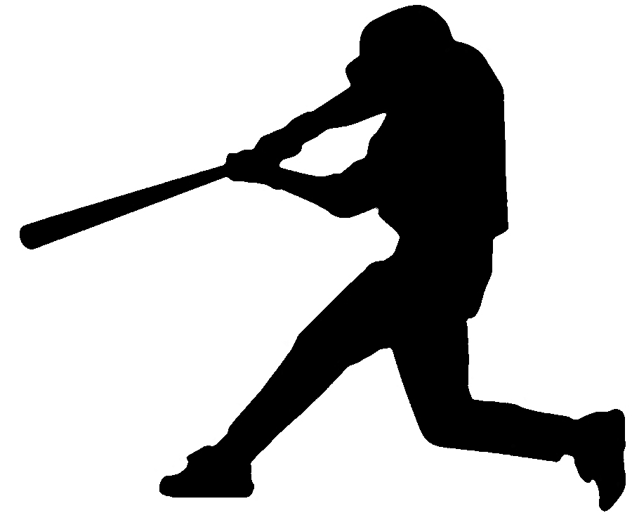 900x740 Pitcher Clipart Baseball Player Silhouette