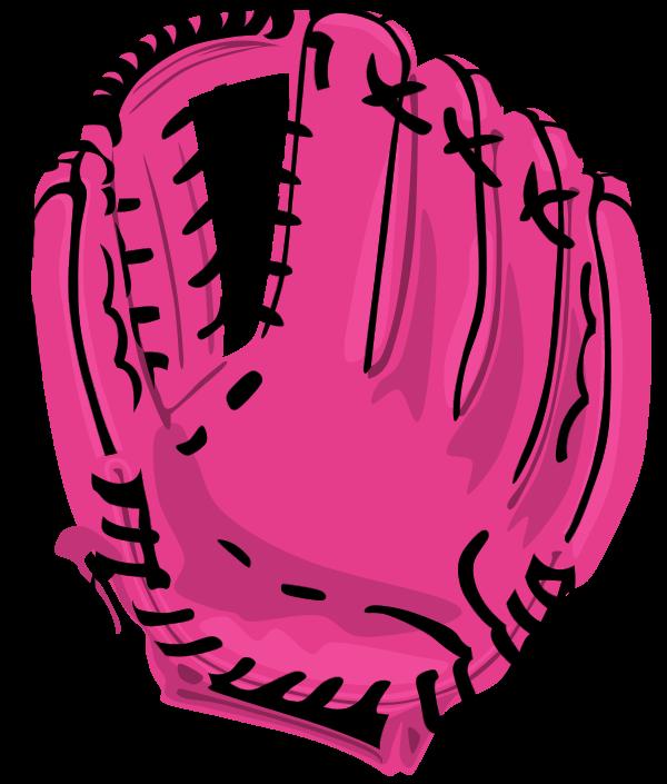 600x705 Baseball Mitt Baseball Glove Clip Art Free Vector 4vector