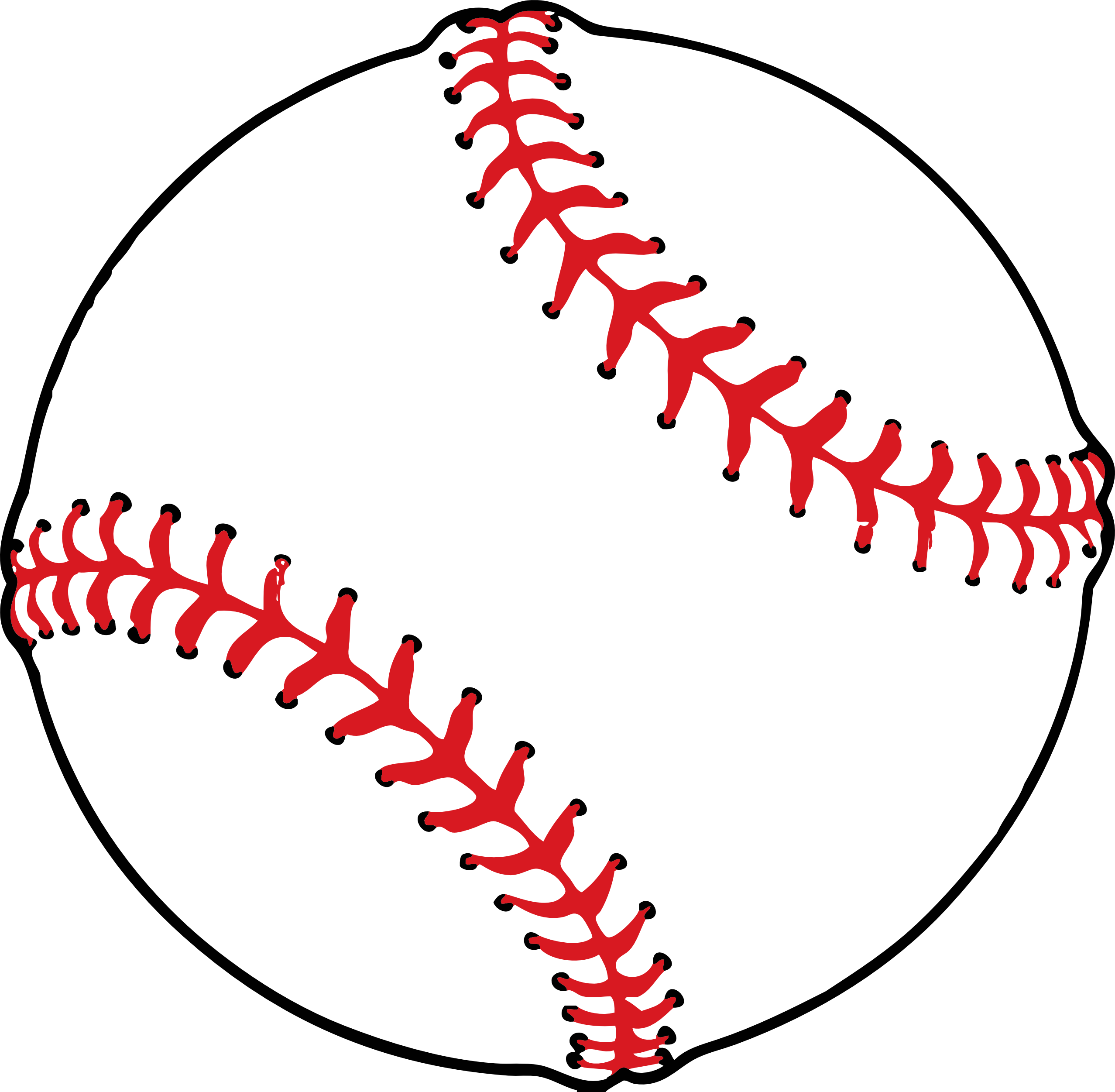 2555x2502 Clip art for baseball clipart