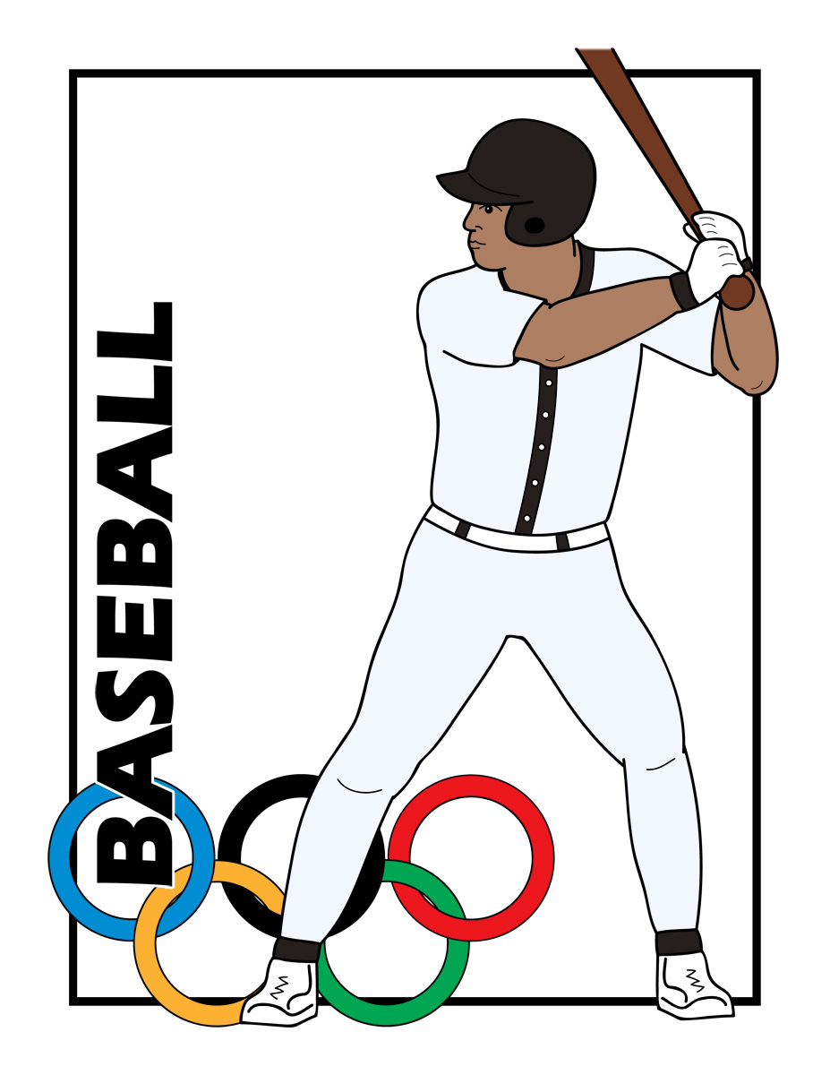 927x1200 Baseball Bat Clipart Baseball Card