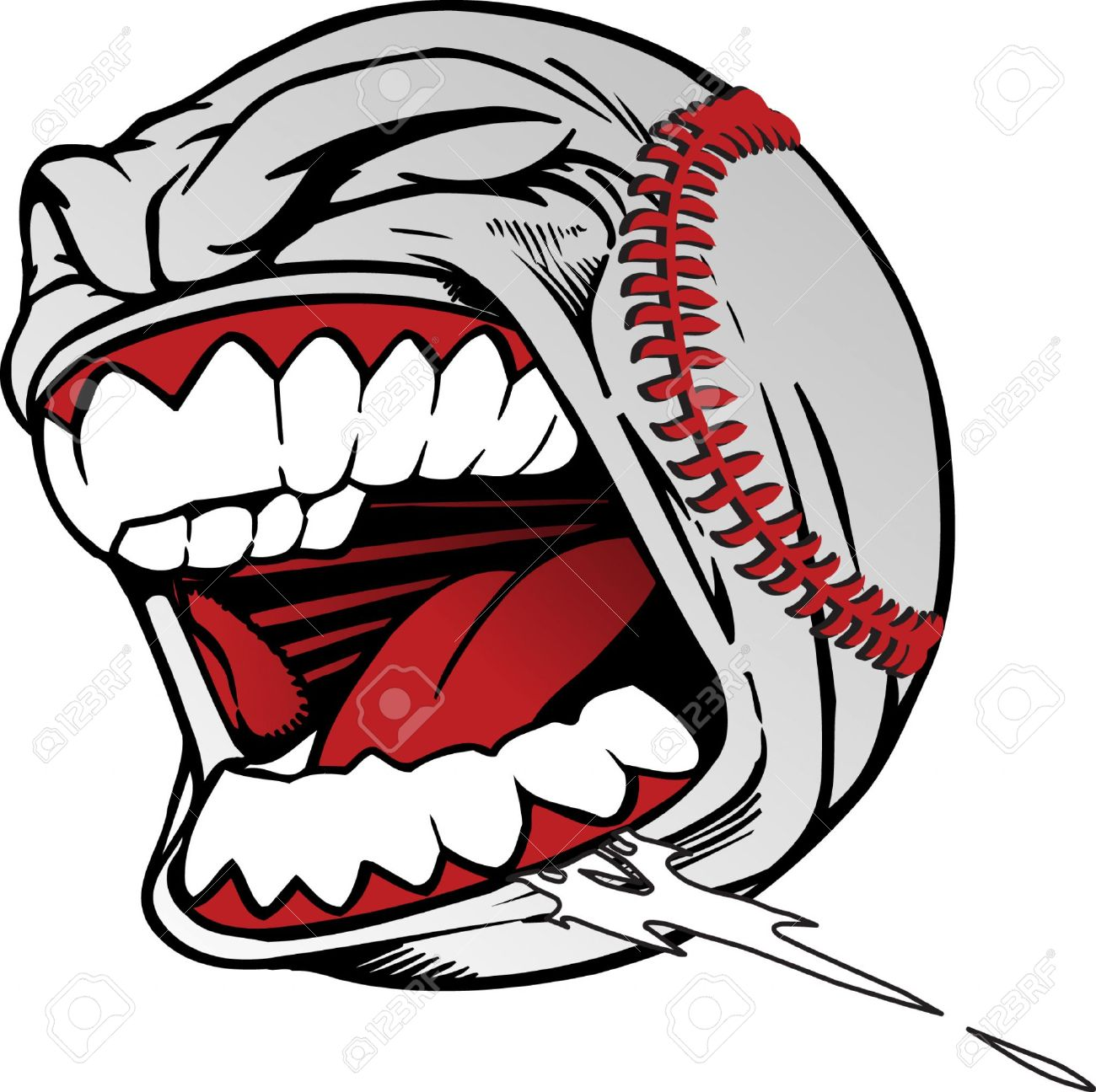 1300x1296 Screaming baseball clipart