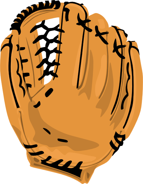 462x594 Baseball Glove Clip Art