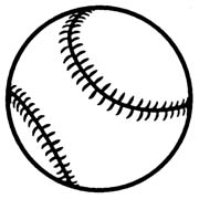 Baseball Clipart Black And White | Free download best ...