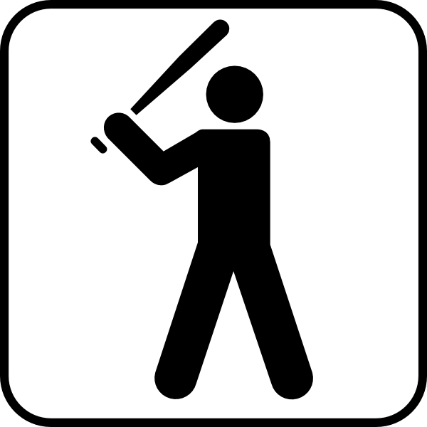 600x600 Baseball Diamond Baseball Field Clip Art Free Vector 4vector