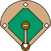 Baseball Diamond Clipart