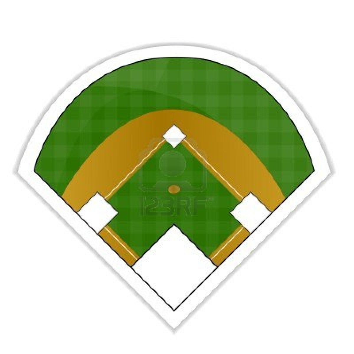 1200x1200 Baseball Diamond Baseball Field Clip Art Wikiclipart