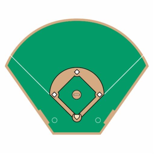 512x512 Baseball Diamond Baseball Field Clip Art 7 Clipart Clipartbarn
