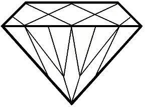 289x213 Cartoon Diamond Clip Art Diamond Graphics Clipart Diamond Icon