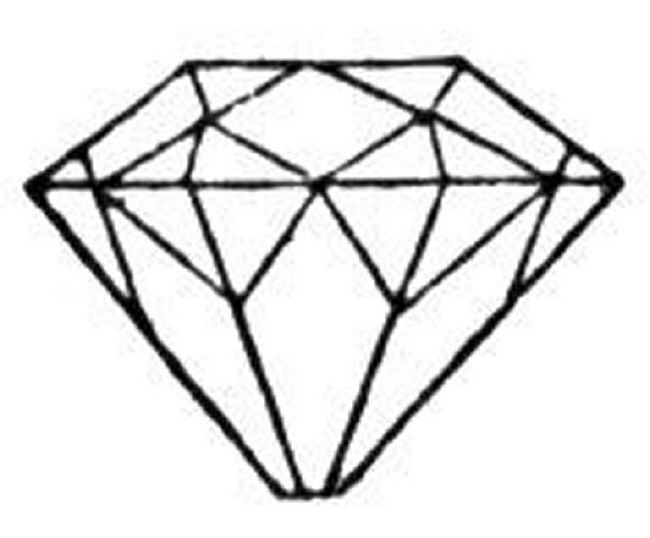 650x538 Diamond Coloring Pages Coloring Pages Baseball Diamond Allcolored