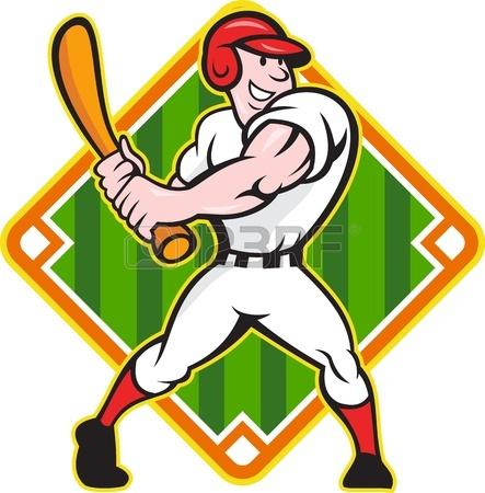 443x450 Cartoon Illustration Of A Baseball Player Pitcher Pitching Ball