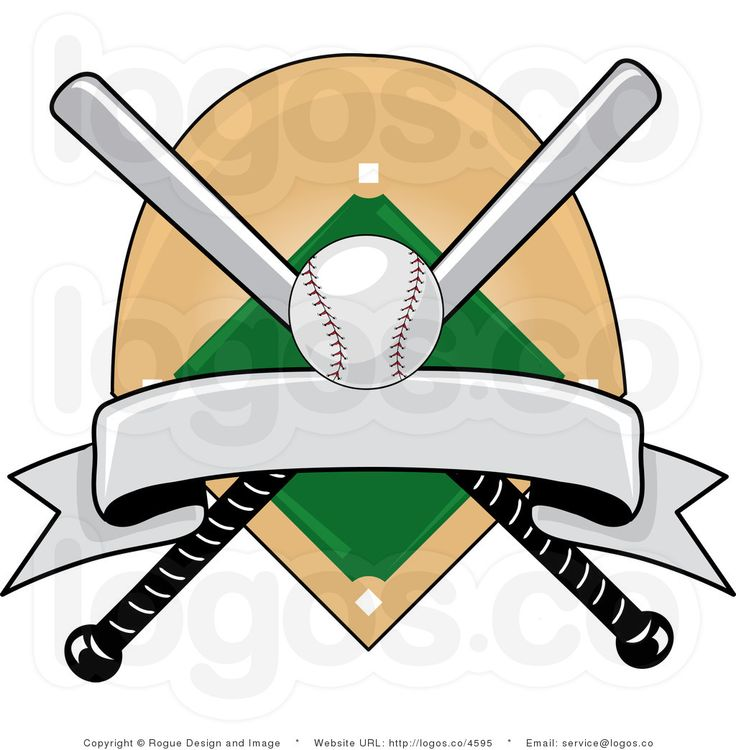Baseball Field Diagram Printable Clipart