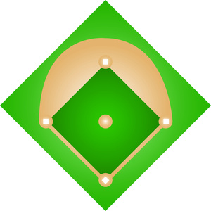 300x300 Baseball Diamond Clip Art Free Vector In Open Office Drawing Svg