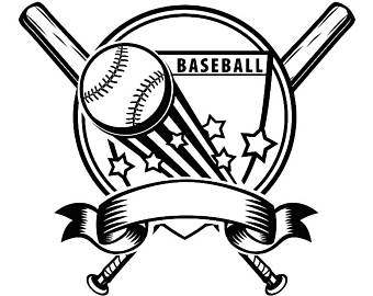 340x270 Baseball Diamond Svg Etsy
