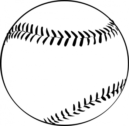 425x414 Best Baseball Field Clip Art