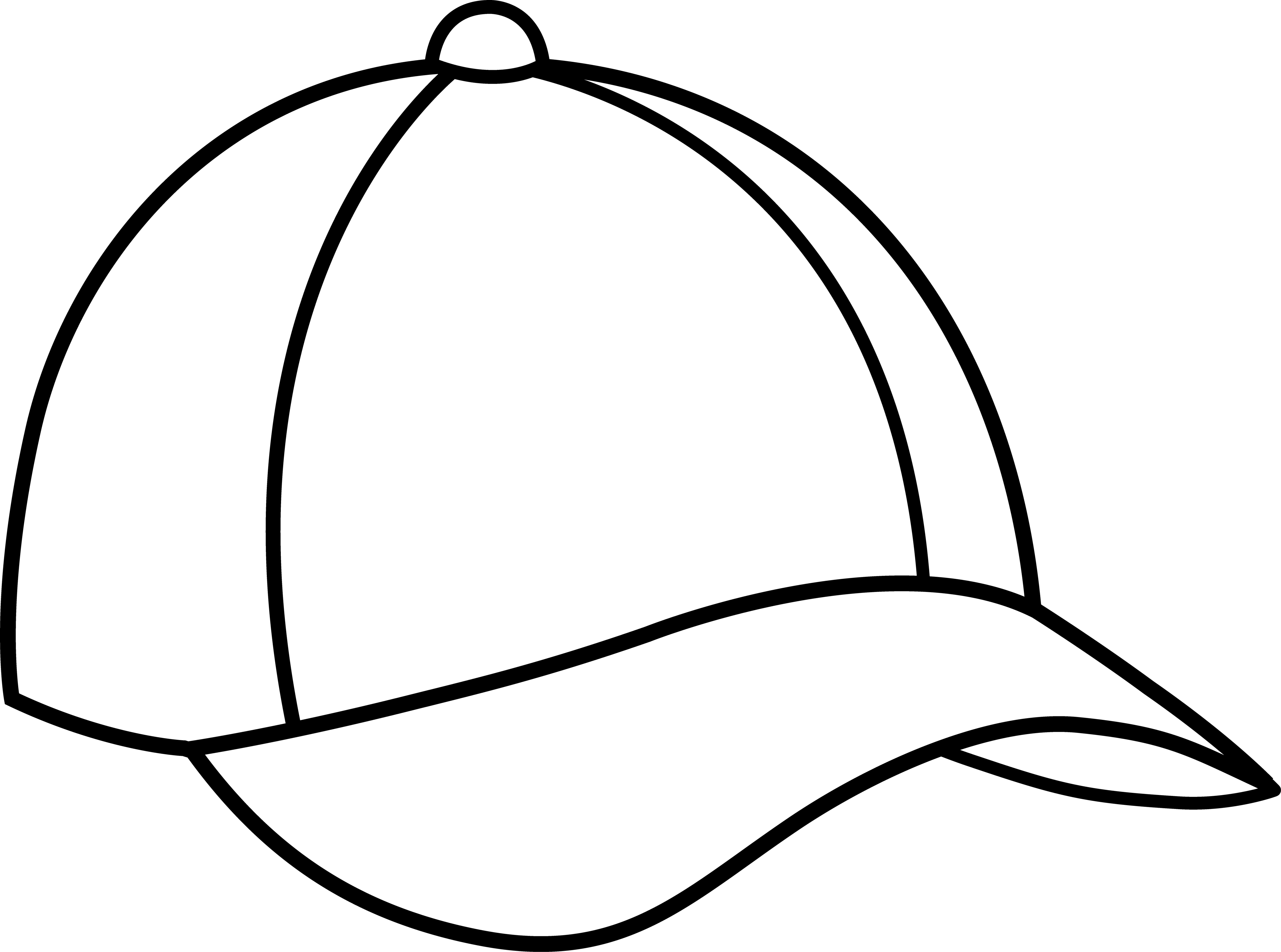 5136x3818 Free Backwards Baseball Cap Clipart